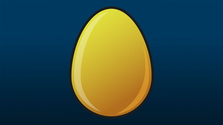 What games are included in Mystery Egg Bundle's golden eggs