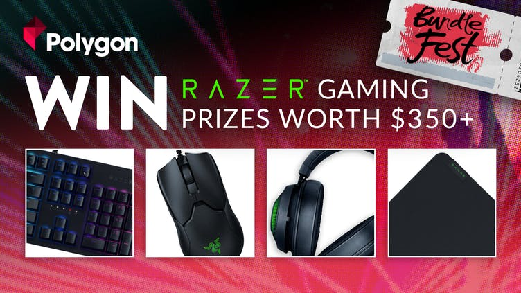 Win RAZER gaming prizes worth over $350 as part of BundleFest 2020