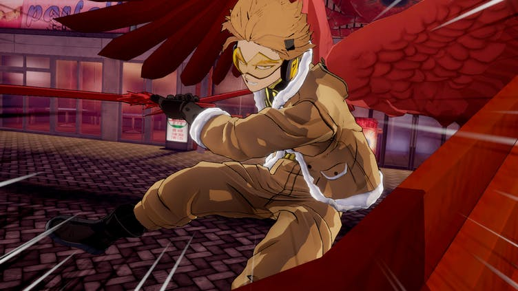Hawks joins MY HERO ONE'S JUSTICE 2 roster