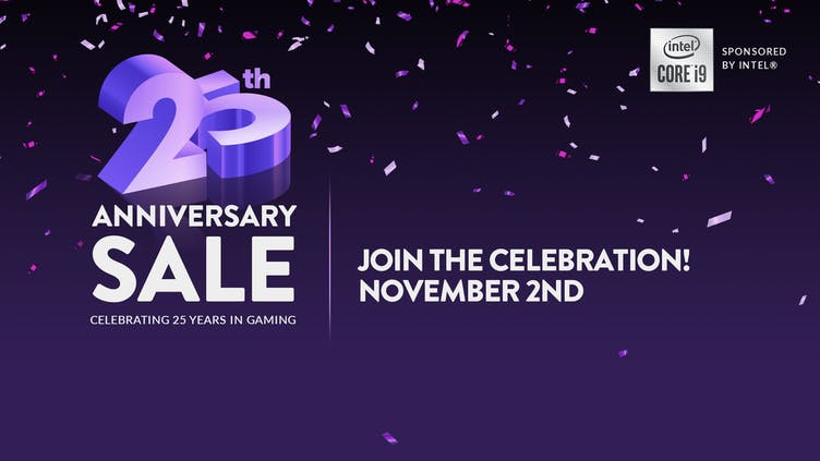 Get ready for thousands of amazing Steam game deals in our 25th Anniversary event