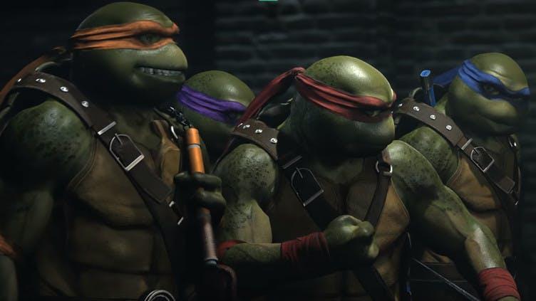 Ninja Turtles arrive in the Injustice 2 Fighter Pack 3