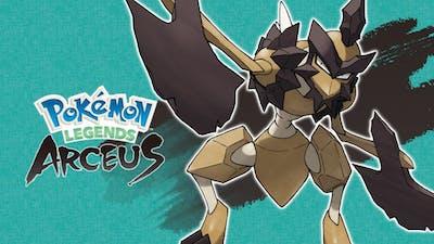 New Pokémon Legends: Arceus trailer shows off noble Pokémon Kleavor