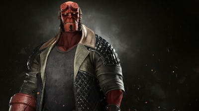 When is Hellboy joining the Injustice 2 fighting roster?