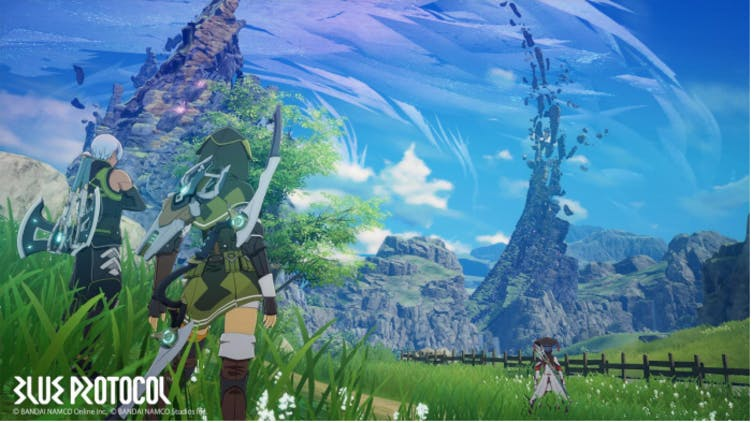 Bandai Namco is launching another PC action RPG - Blue Protocol