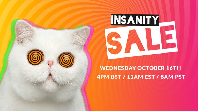 Insanity Sale - Over 60 flash deals on awesome PC games