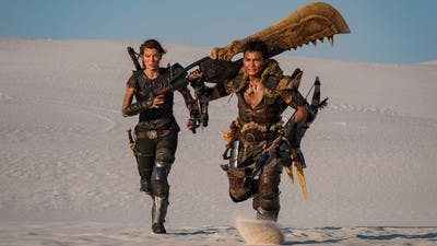 First glimpse of Monster Hunter movie goes viral