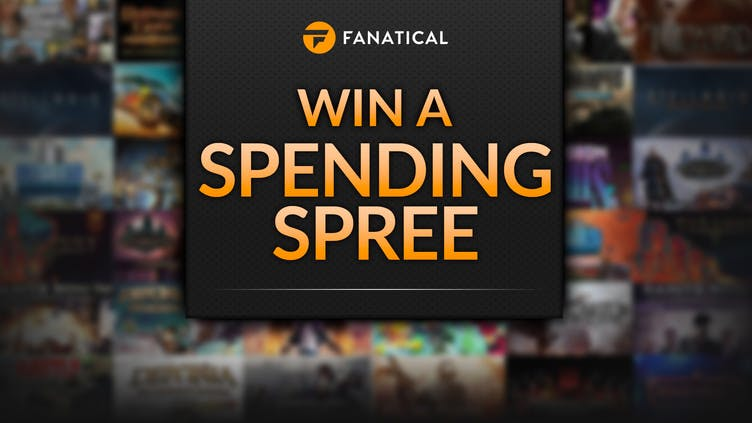 Fanatical $1,000 games spending spree up for grabs