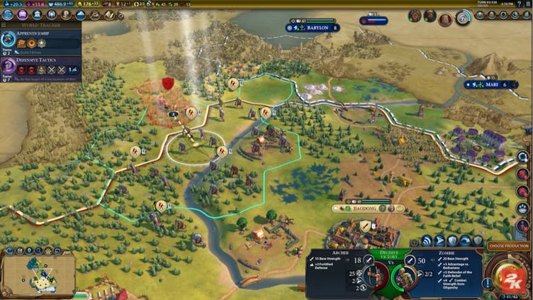Zombies are coming to Civilization VI's New Frontier Pass