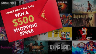 Chance to win a Lunar New Year $500 shopping spree with Fanatical