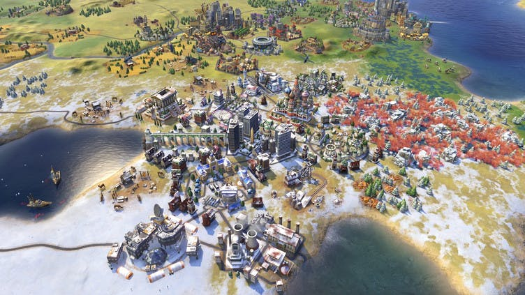 Sid Meier's Civilization VI Gold Edition - What's included