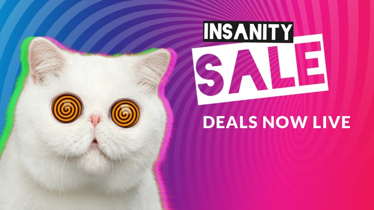 Insanity Sale now live - Don't miss crazy Flash Deals with huge savings