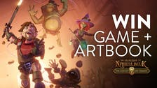 Win Dungeon Of Naheulbeuk: The Amulet Of Chaos Steam PC key and artbook