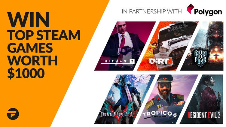 Win top Steam games worth $1,000 with Fanatical and Polygon