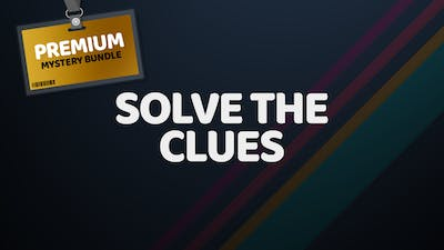 What games are in the Premium Mystery Bundle - Solve the clues