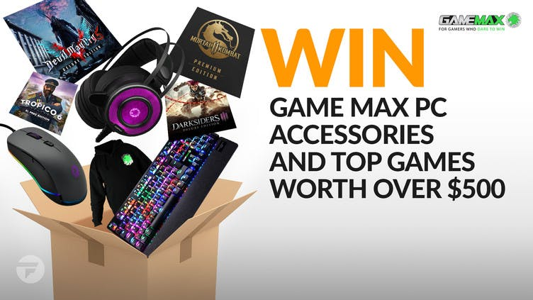 Win top Steam games and Game Max PC accessories worth over $500