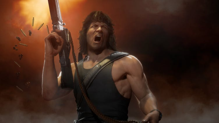 Rambo joins the fight in Mortal Kombat 11's Kombat Pack 2