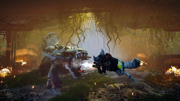 Biomutant's flashy combat shown off in latest trailer