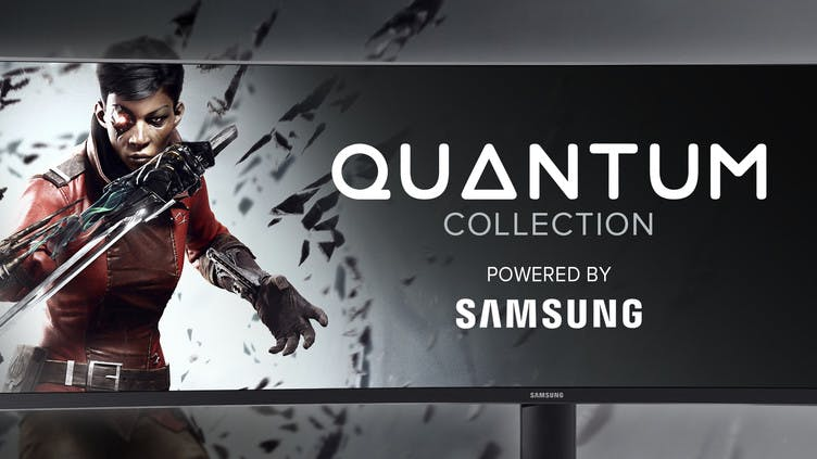 Save on top AAA games in the Quantum Collection powered by Samsung