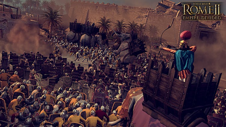 Grand-scale campaign awaits in new Total War: Rome II DLC