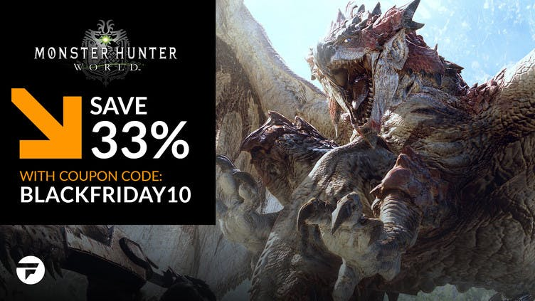 Big discount on Monster Hunter: World PC