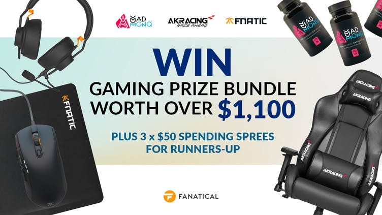 Win big BundleFest gaming prizes worth over $1,100 with Fanatical