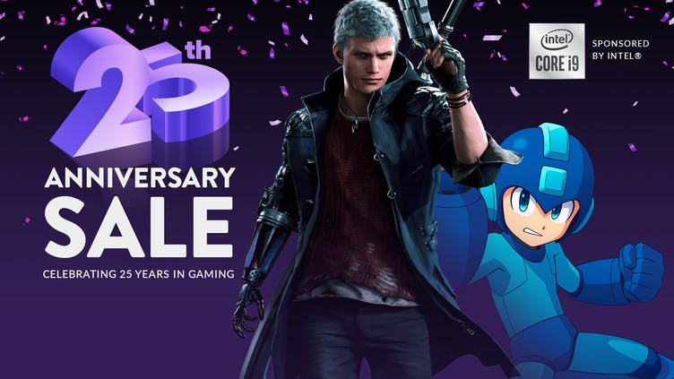 Get thousands of amazing game deals in our 25th Anniversary Sale