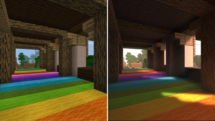 New graphics update for Minecraft after NVIDIA partnership