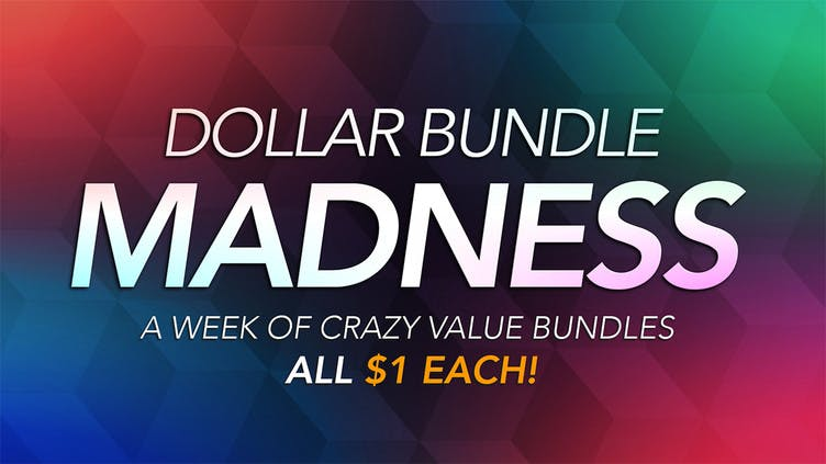 Dollar Bundle Madness - A week of awesome deals