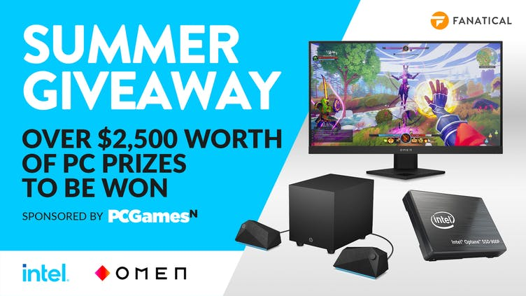 Fanatical and PCGamesN Summer Giveaway - Over $2,500 worth PC gaming prizes to be won