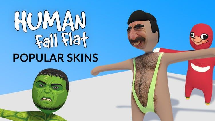 Human: Fall Flat - Popular skins
