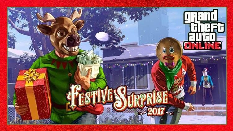 GTA Online Festive Surprise – Check out the discounts