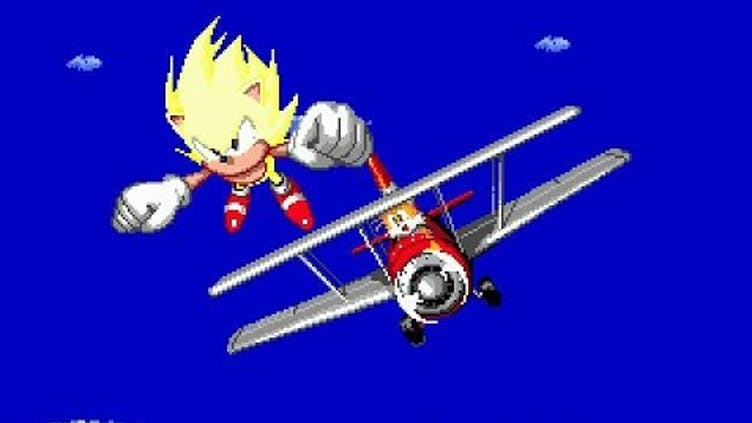 How To Get Super Sonic The Classic Sonic The Hedgehog 2 Cheat Fanatical