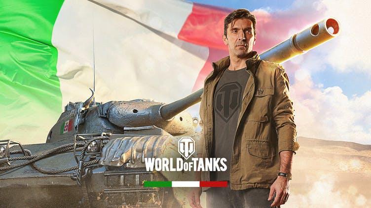 World of Tanks team up with Juventus goalkeeper