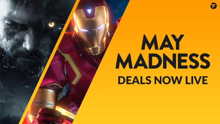 May Madness now live - Don't miss out on 1000s of top game deals