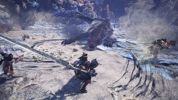 Monster Hunter: World - Iceborne has a new PC release date window