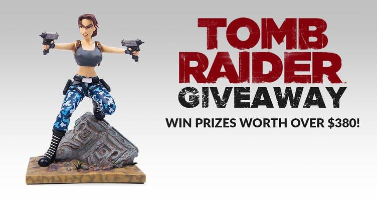 Win Tomb Raider prizes worth over $380