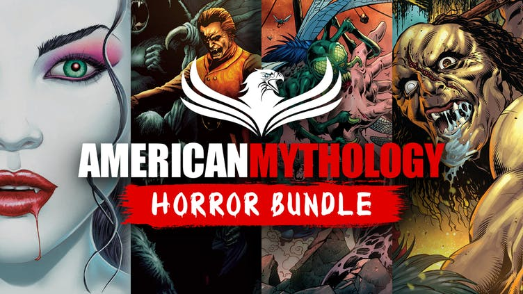 20 new-to-Fanatical comics arrive in the American Mythology Horror Comics Bundle