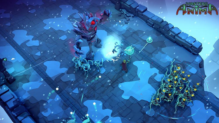 Action strategy Masters of Anima launches on Steam PC