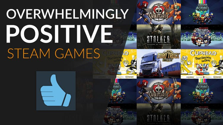 Overwhelmingly Positive Steam games on the Fanatical store