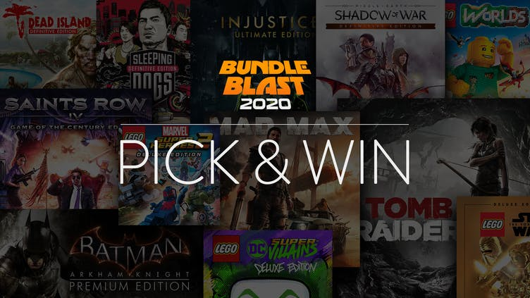 Pick and win one of 200 AAA Steam bundles - Over $20,000 worth of games to be won