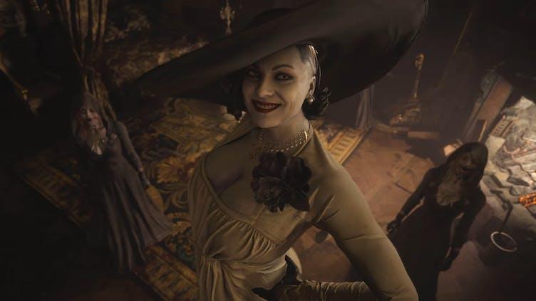 Capcom dev reveals Lady Alcina Dimitrescu's height in Resident Evil Village