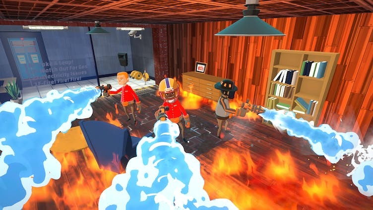 Become a firefighter in hilarious action sim Embr