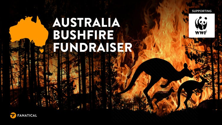 Fanatical will donate all proceeds to WWF Bushfire Appeal in special sale