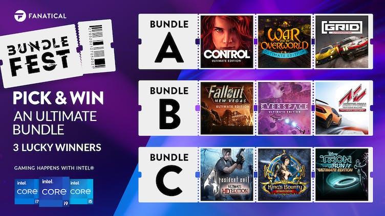 Pick & Win Ultimate Steam PC game bundle during BundleFest