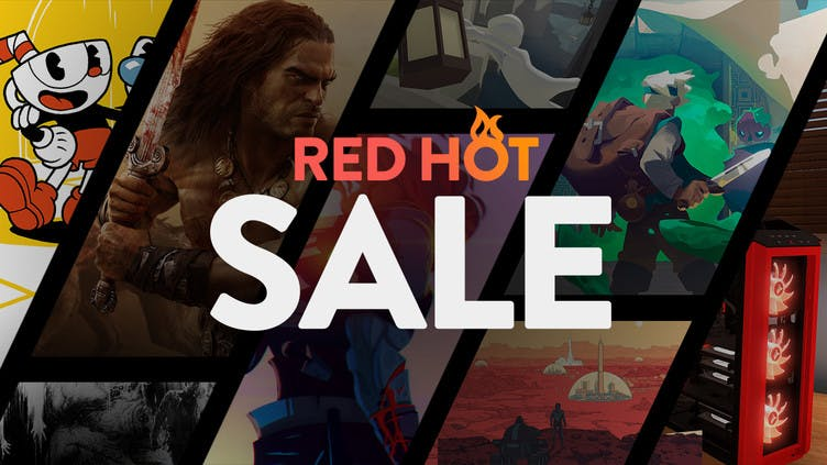Red Hot Sale - Big savings on Steam PC games