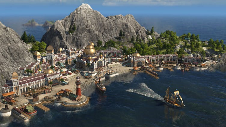 How do I get to the New World in Anno 1800?