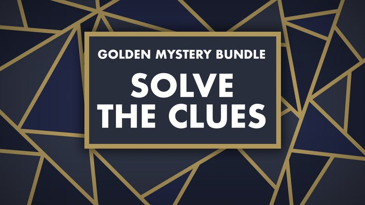 What games could you find in the Golden Mystery Bundle - Solve the clues
