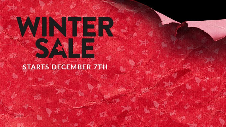 Winter Sale is coming - Get ready for amazing Steam PC game deals