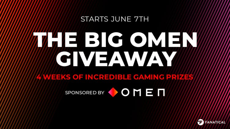 The Big OMEN Giveaway coming soon - Four weeks of incredible gaming prizes