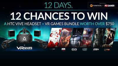 Win a HTC Vive and VR games bundle this Christmas